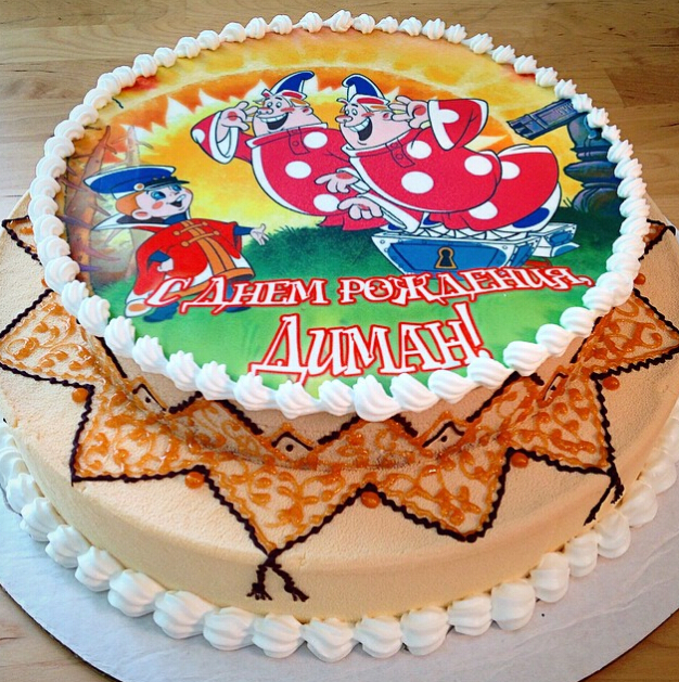 Printed Birthday Cakes 05